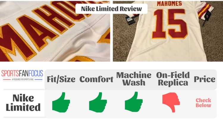 nike nfl elite jersey review