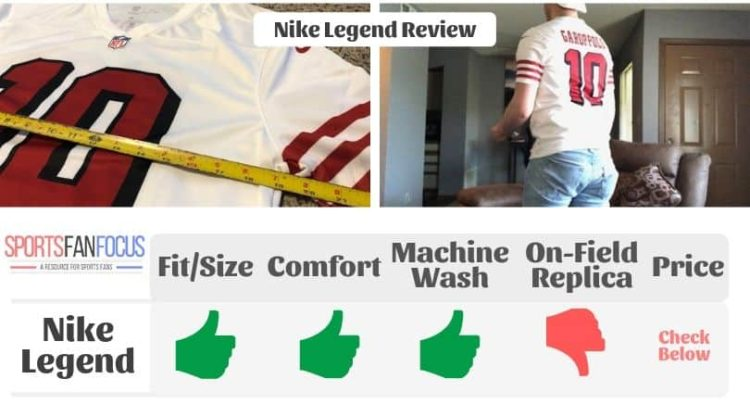 uk availability b77f6 60c12 NFL Nike Legend Jersey Review 2019 (How Mine Fit w/ Pictures ...