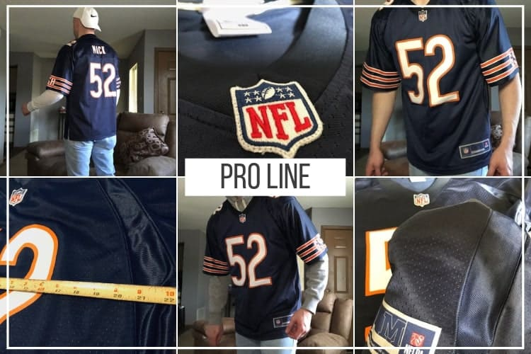 promo code 32f65 e89ff NFL Pro Line Jersey Review 2019 (How Mine Fit w/ Pictures ...
