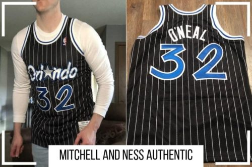 size 40 3e679 12ab4 Mitchell and Ness Authentic Jersey Review (How Mine Fits ...