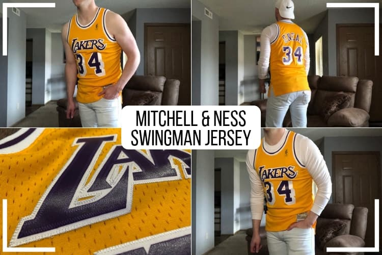 low priced 53512 41e80 NBA Mitchell and Ness Swingman Jersey Review (How Mine Fits ...