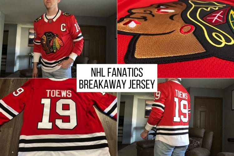 fanatics nhl jersey