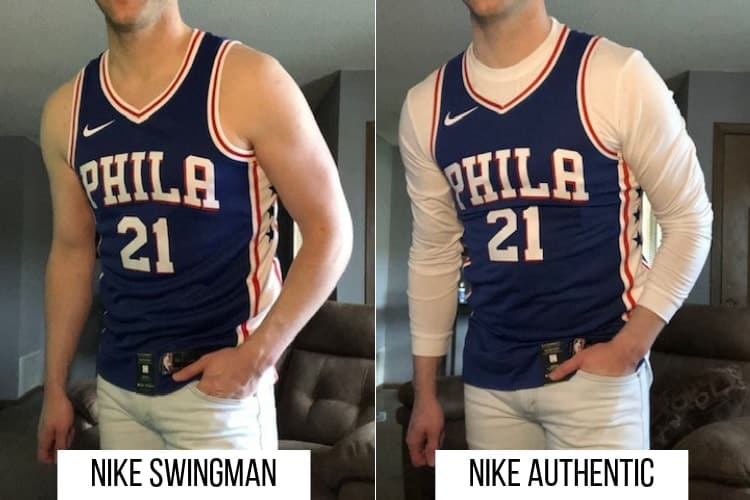 what is a swingman jersey